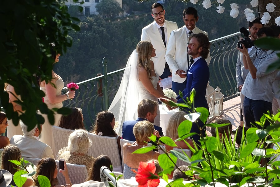 Matrimonio Simbolico A Cuba : Matrimoni a positano nozze costiera amalfitana villa oliviero